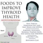 Alimentos para fortalecer la Tiroides