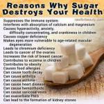 El Azúcar alimenta la proliferación de Enfermedades
