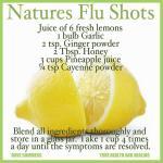 Inyecciones Naturales para la Gripa